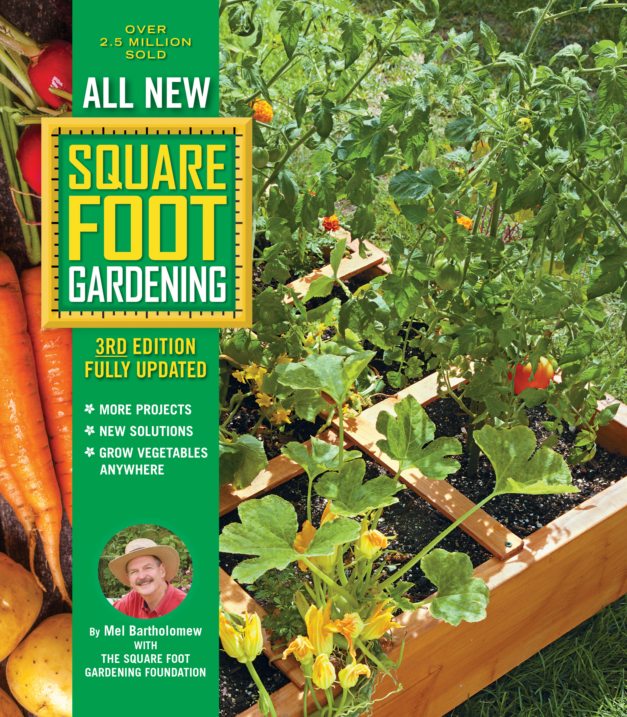 Cover Image of All New Square Foot Gardening, 3rd Edition, Fully Updated