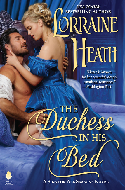 The duchess in his bed cover image