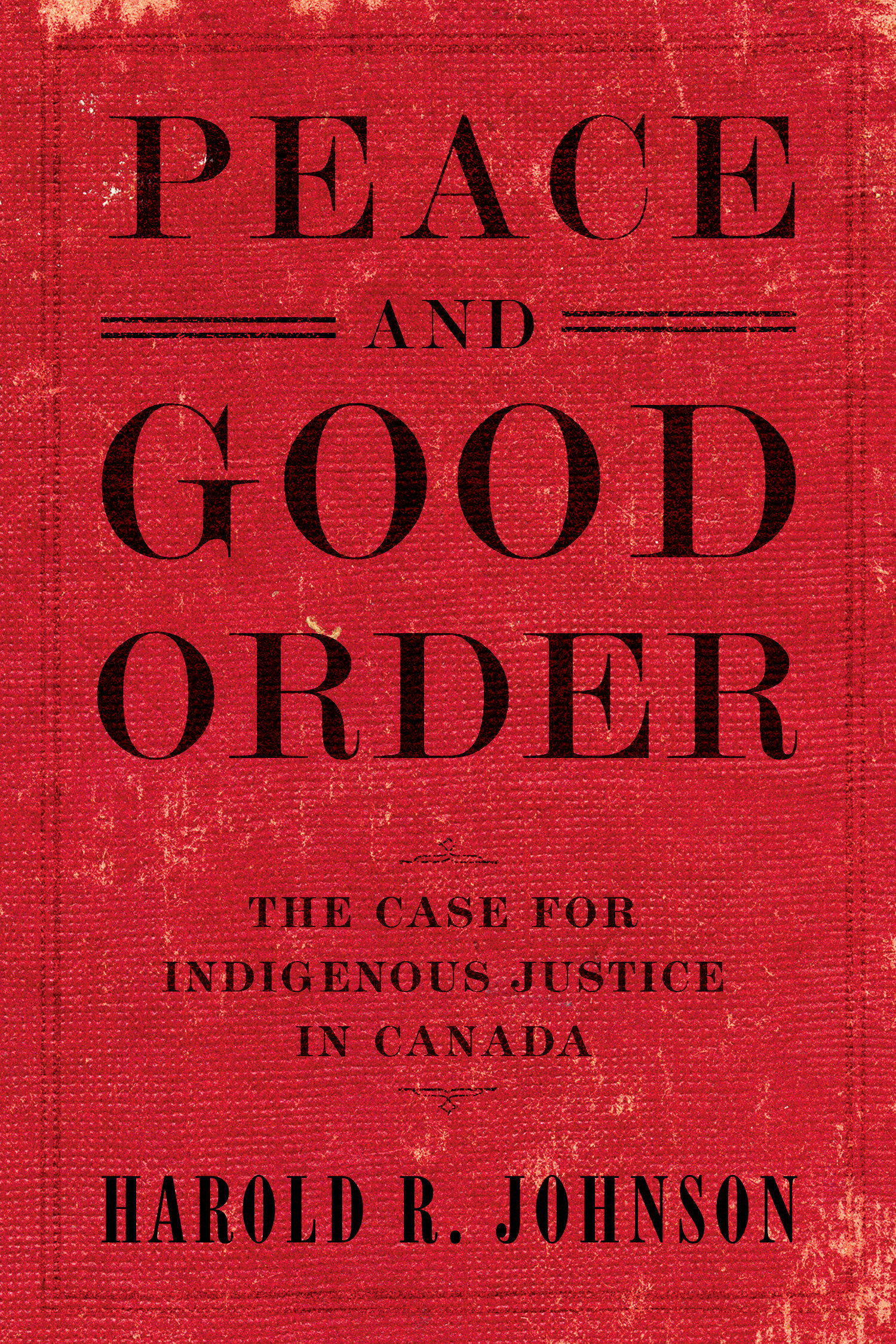 Cover Image of Peace and Good Order
