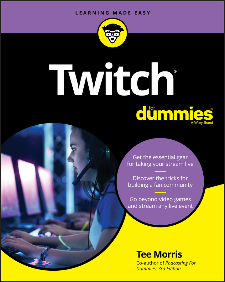 Twitch for dummies cover image