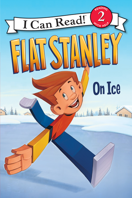 Cover Image of Flat Stanley: On Ice