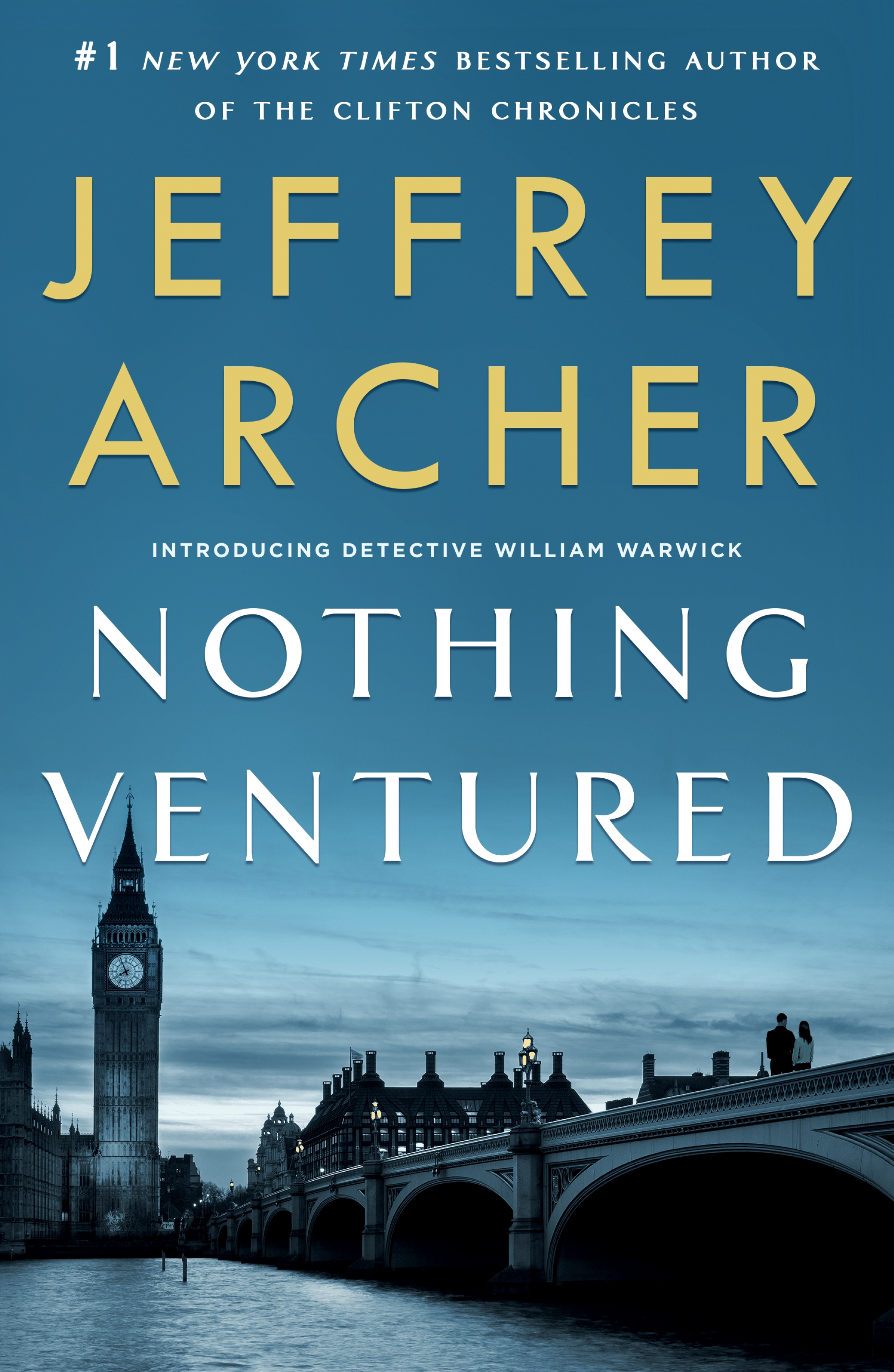 Nothing ventured cover image
