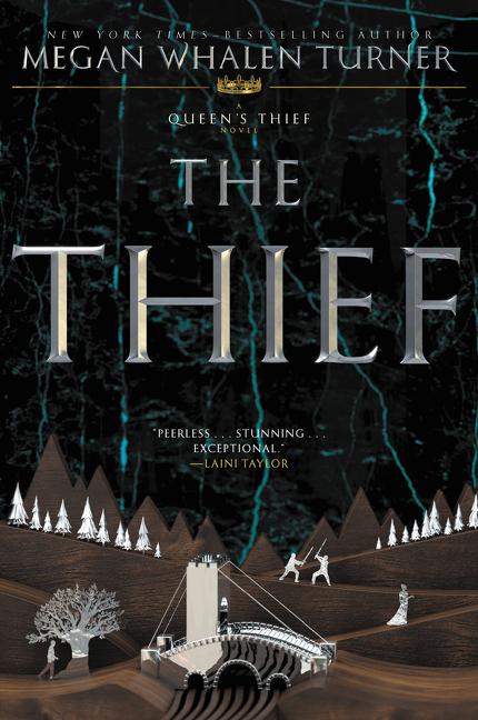 The thief a Queen's thief novel cover image