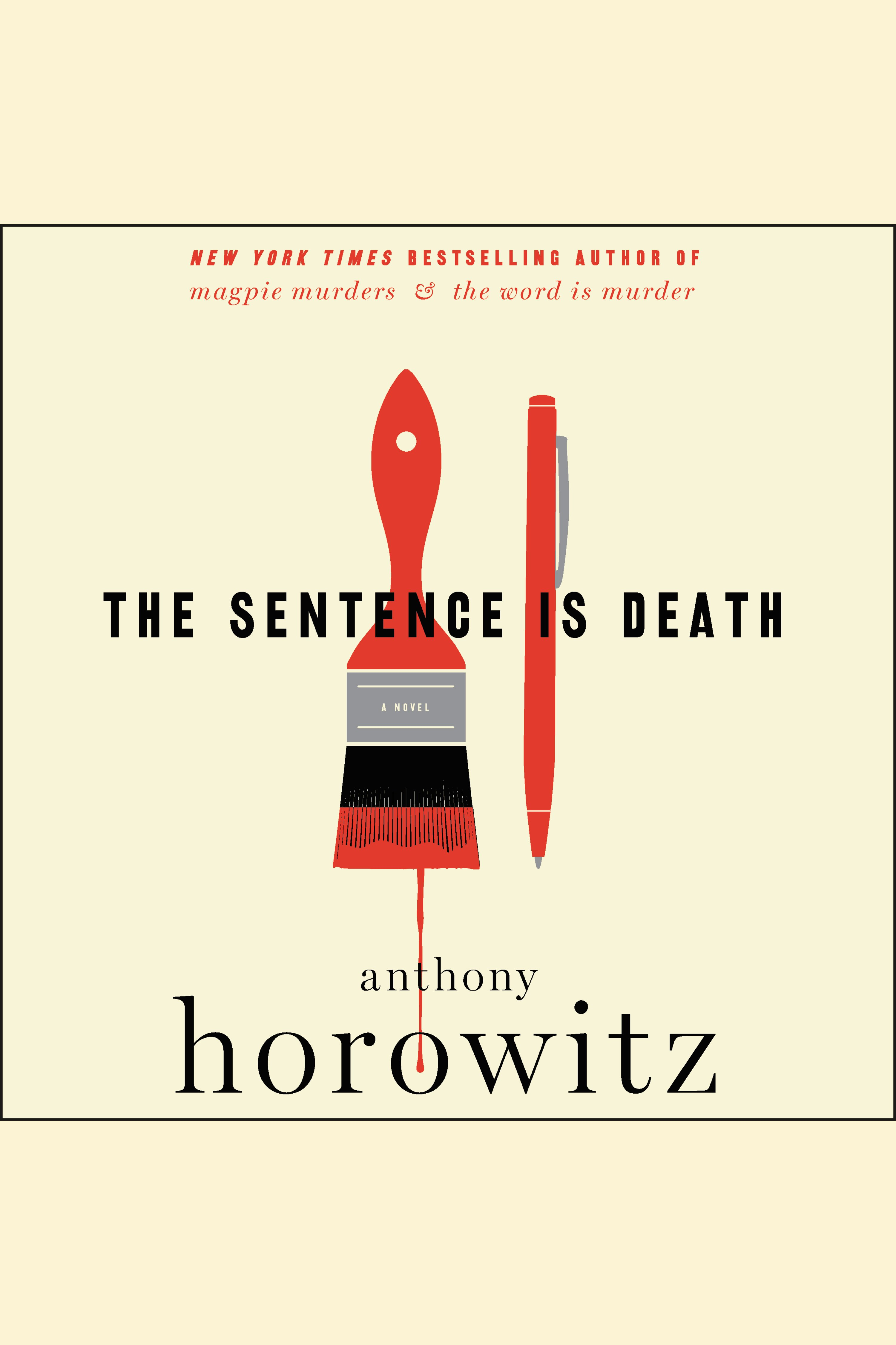 The sentence is death cover image