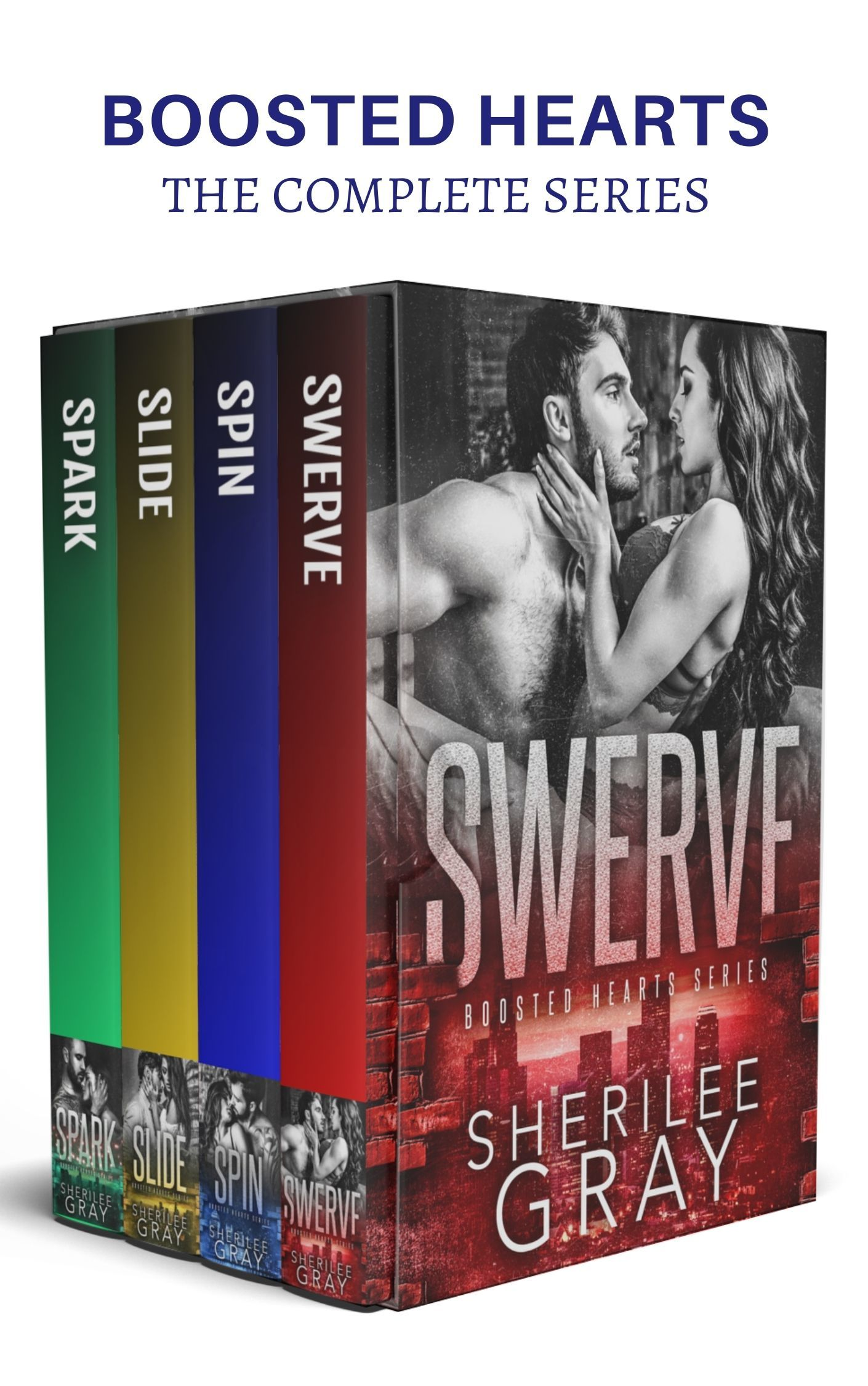 Boosted Hearts Boxed Set: The Complete Series