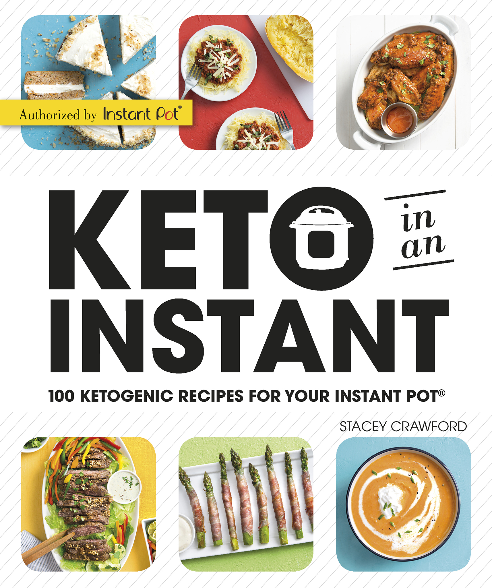 Cover image for Keto in an Instant [electronic resource] : 100 Ketogenic Recipes for Your Instant Pot