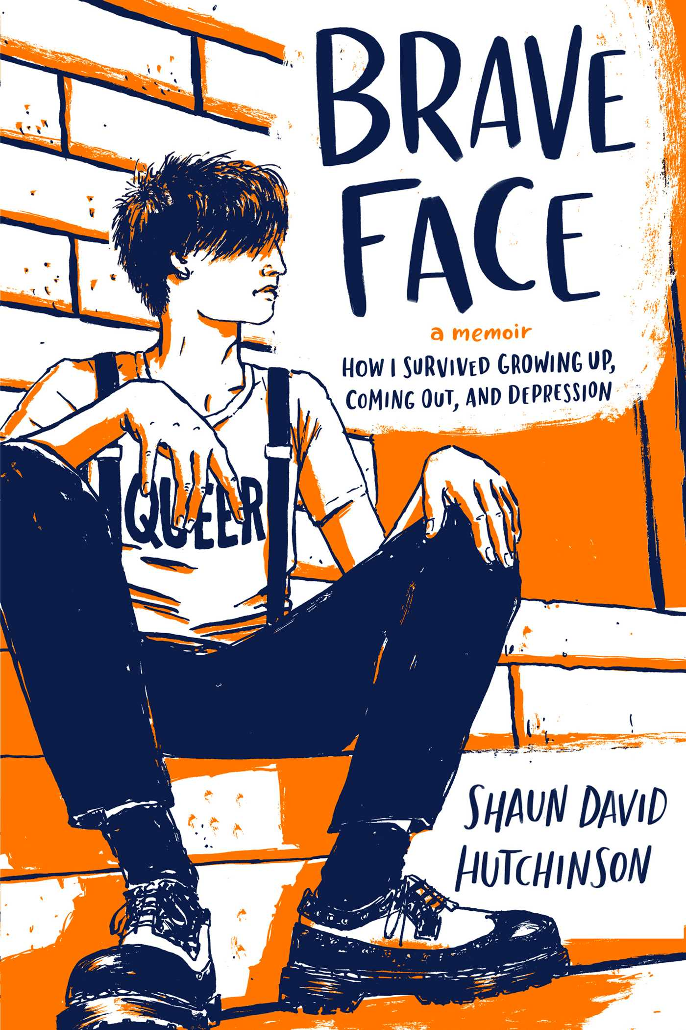 Brave face a memoir cover image