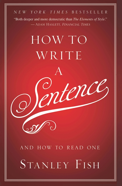 How to write a sentence and how to read one cover image