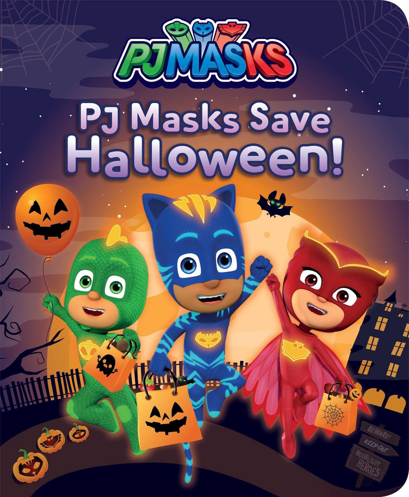 Cover Image of PJ Masks Save Halloween!