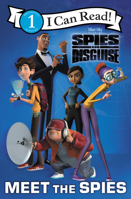 Spies in disguise cover image