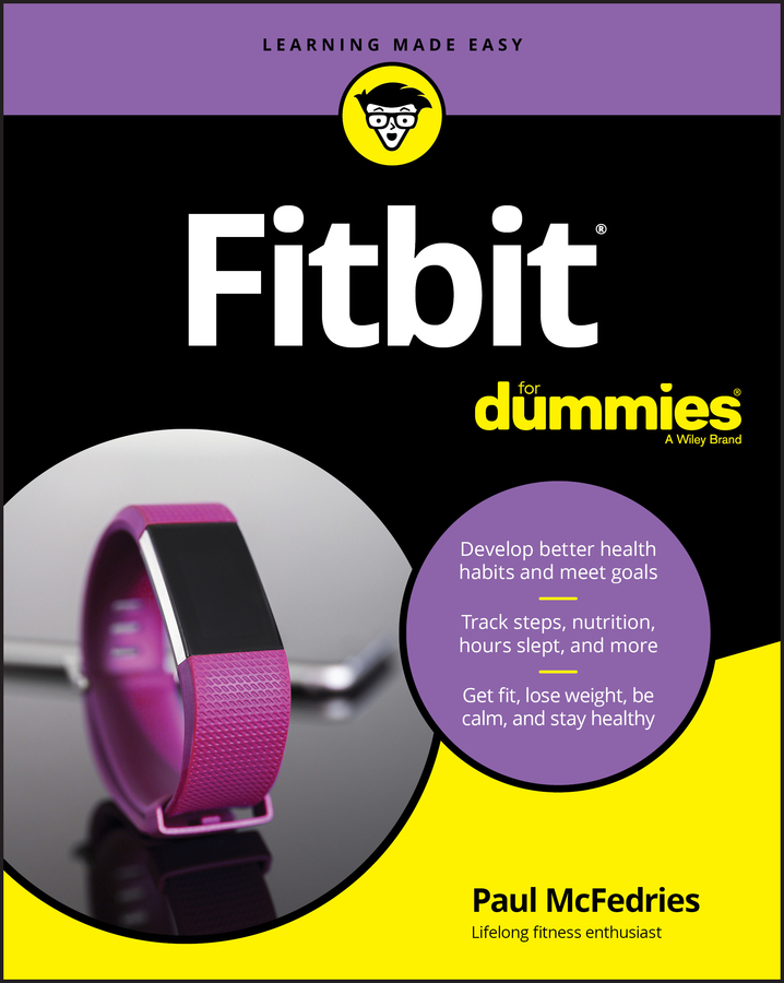 Fitbit for dummies cover image