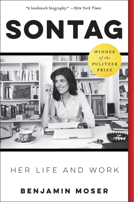 Sontag her life and work cover image