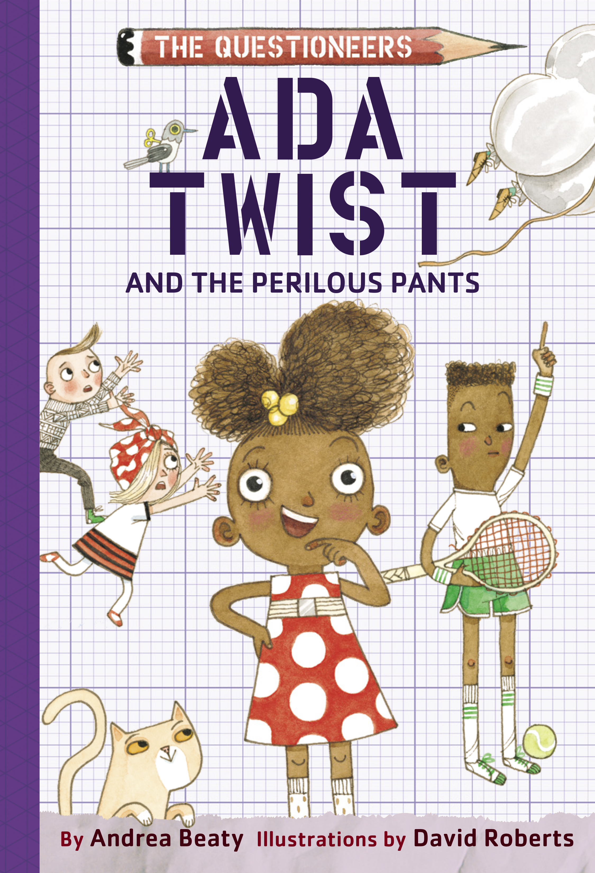 Cover Image of Ada Twist and the Perilous Pants