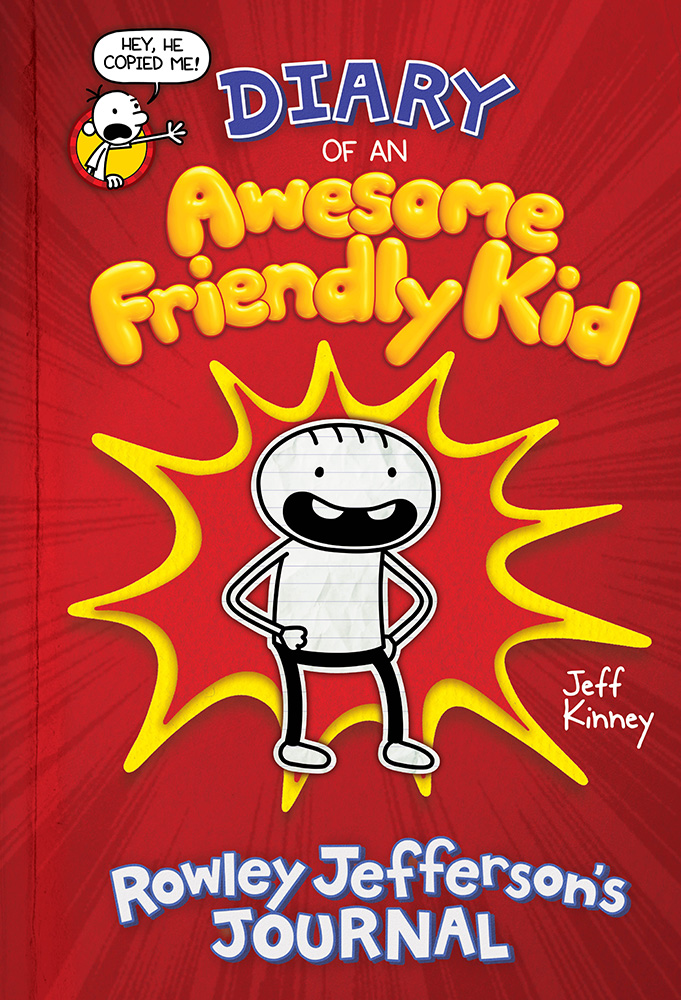 Cover Image of Diary of an Awesome Friendly Kid: Rowley Jefferson's Journal