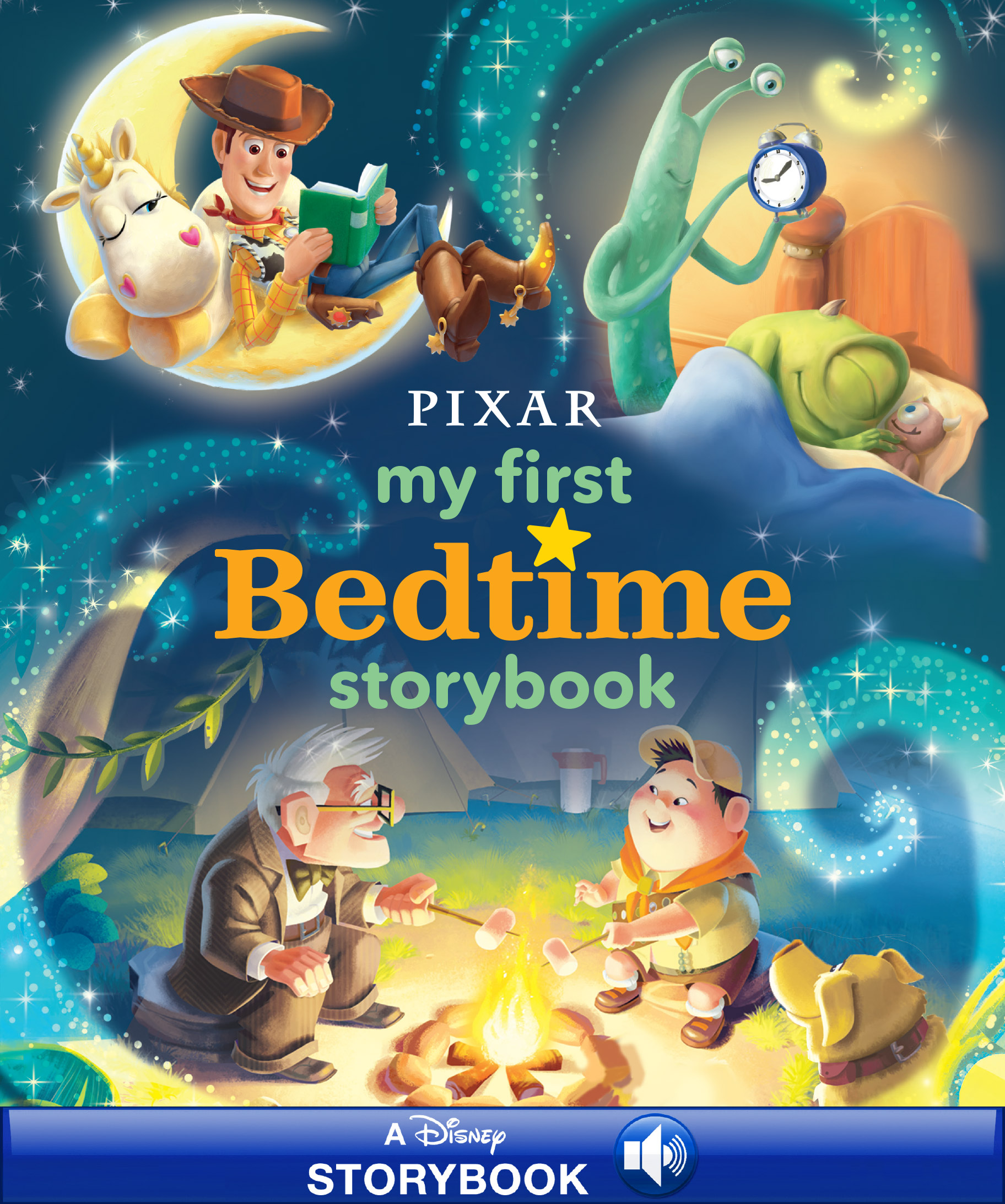 Disney*Pixar My first bedtime storybook [electronic resource (downloadable eBook)] : Read-Along