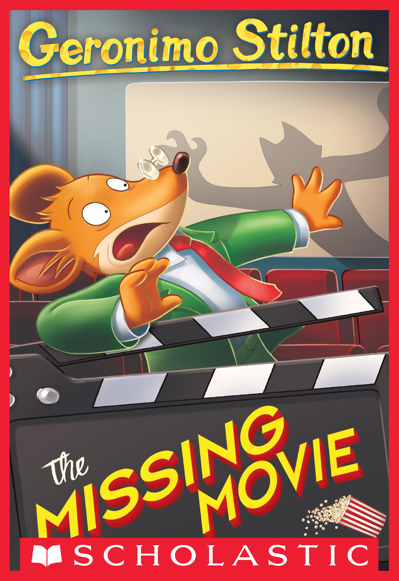 Cover Image of The Missing Movie (Geronimo Stilton #73)