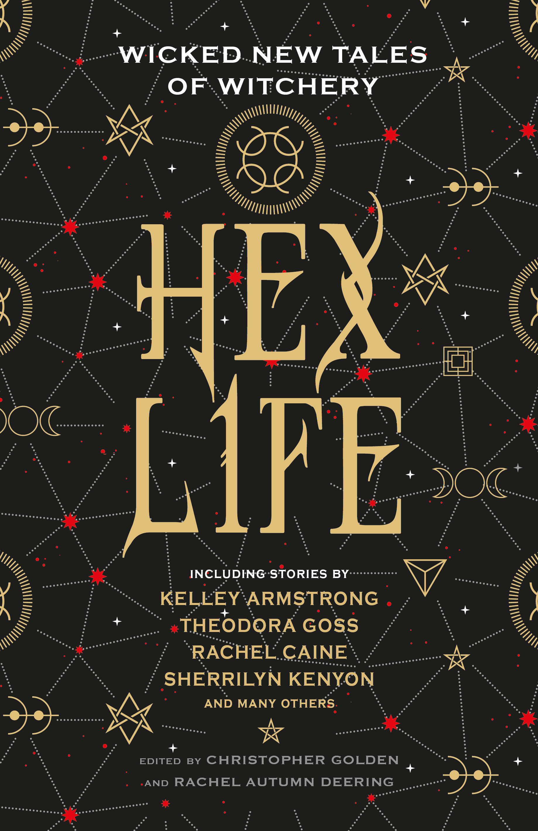 Cover Image of Hex Life: Wicked New Tales of Witchery