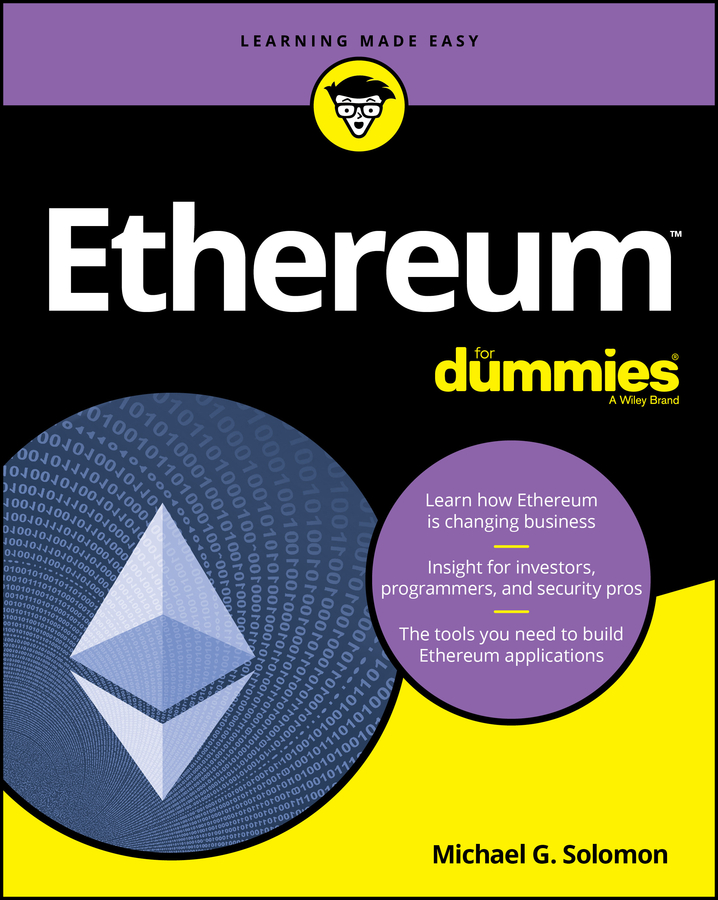 Ethereum for dummies cover image