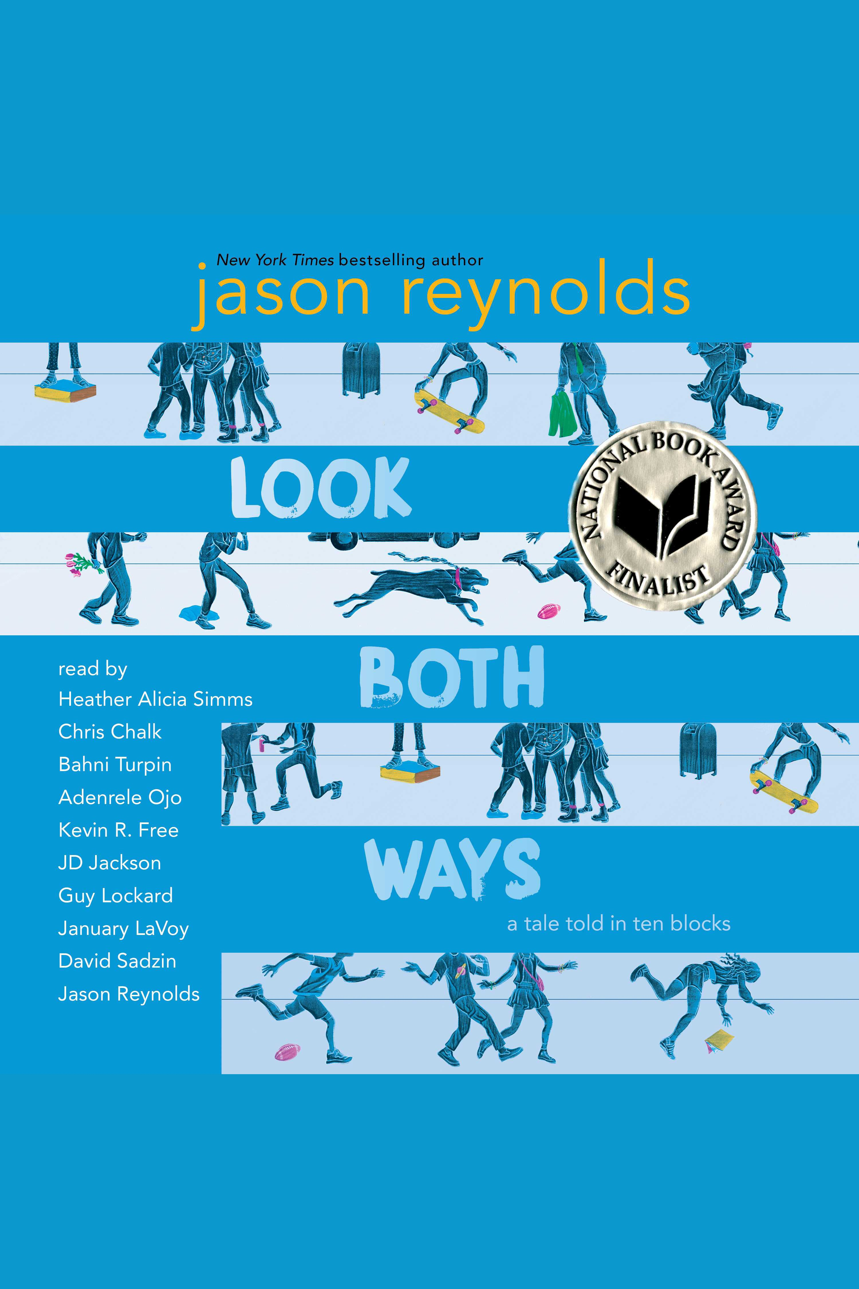 Look both ways a tale told in ten blocks cover image