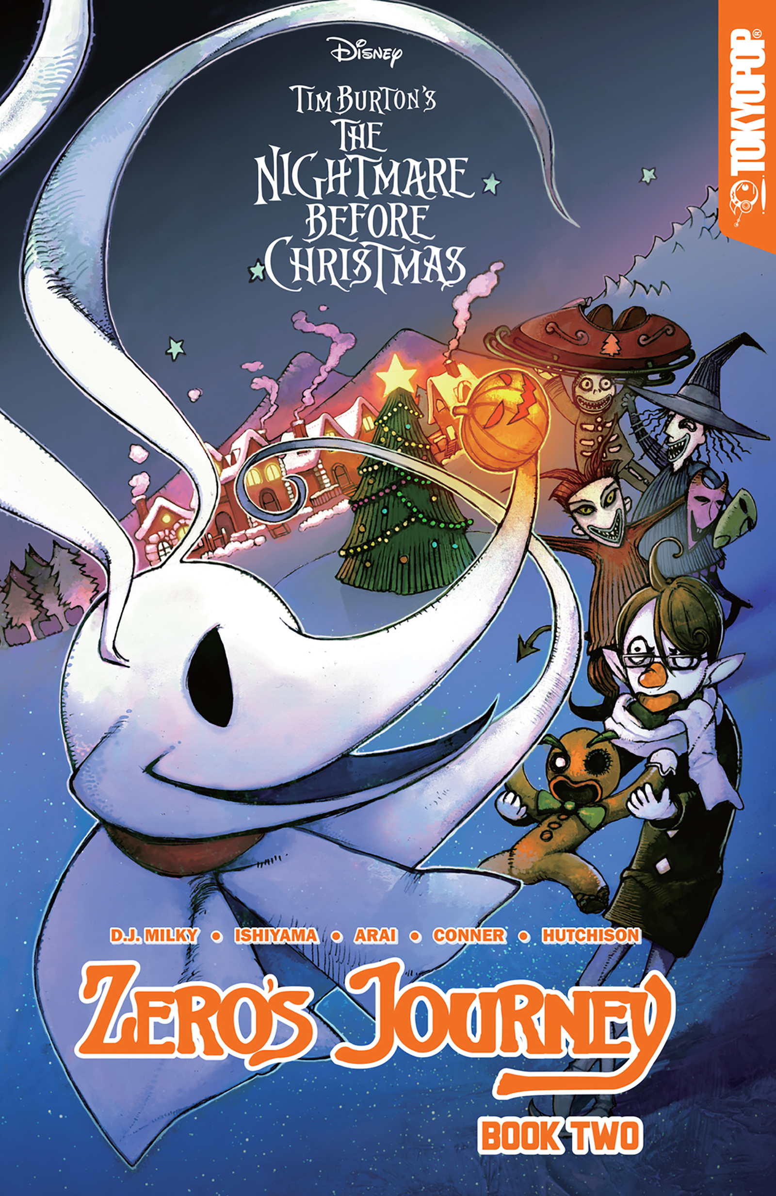 Disney Manga: Tim Burton's The Nightmare Before Christmas -- Zero's Journey Graphic Novel Book 2