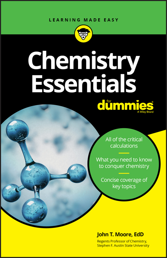 Chemistry essentials for dummies cover image