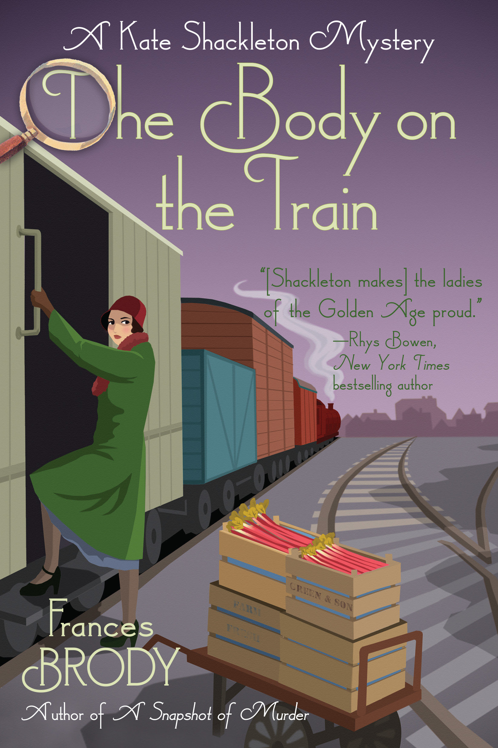 The body on the train [electronic resource (downloadable eBook)] : a Kate Shackleton mystery