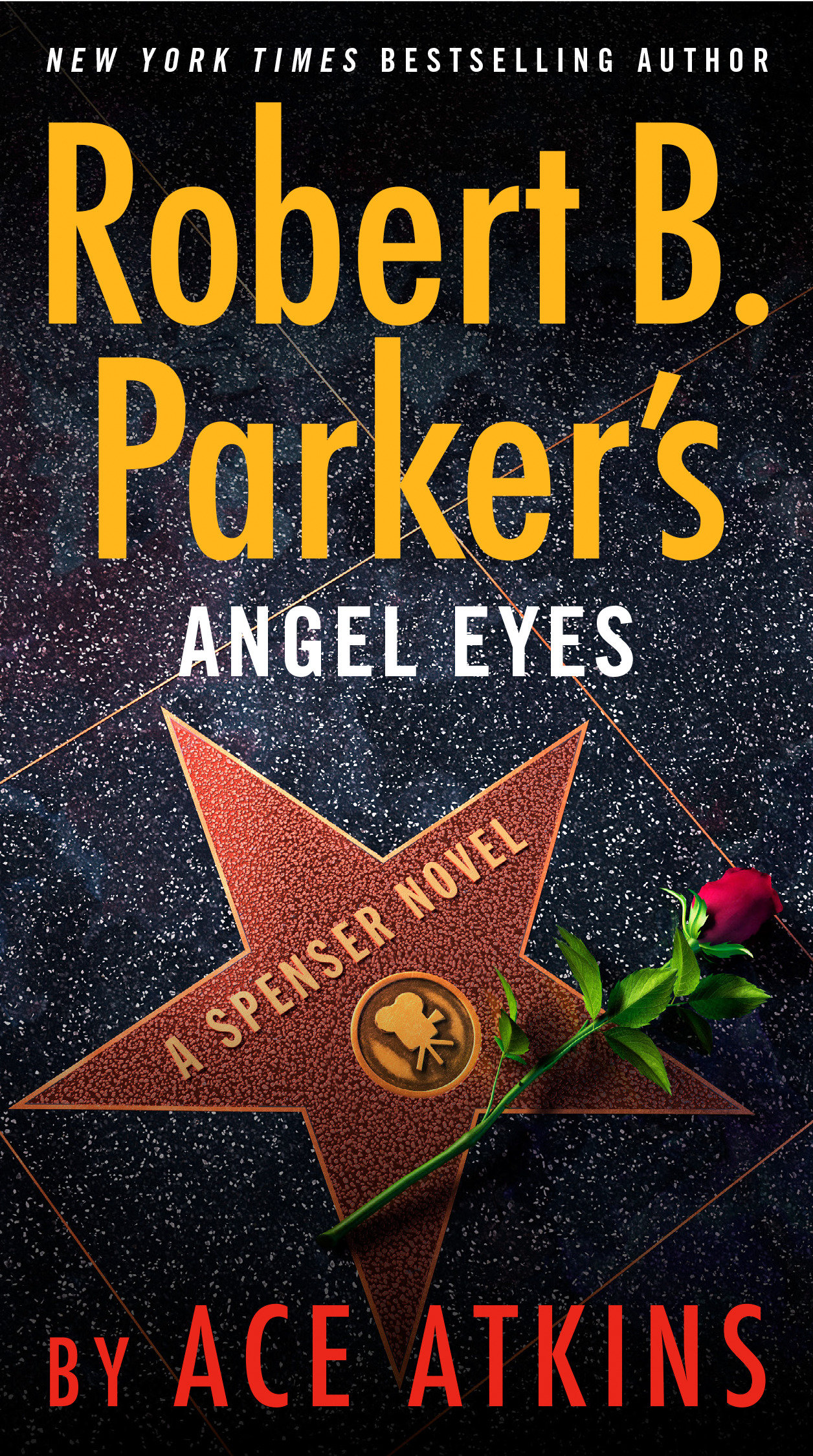 Robert B. Parker's angel eyes cover image