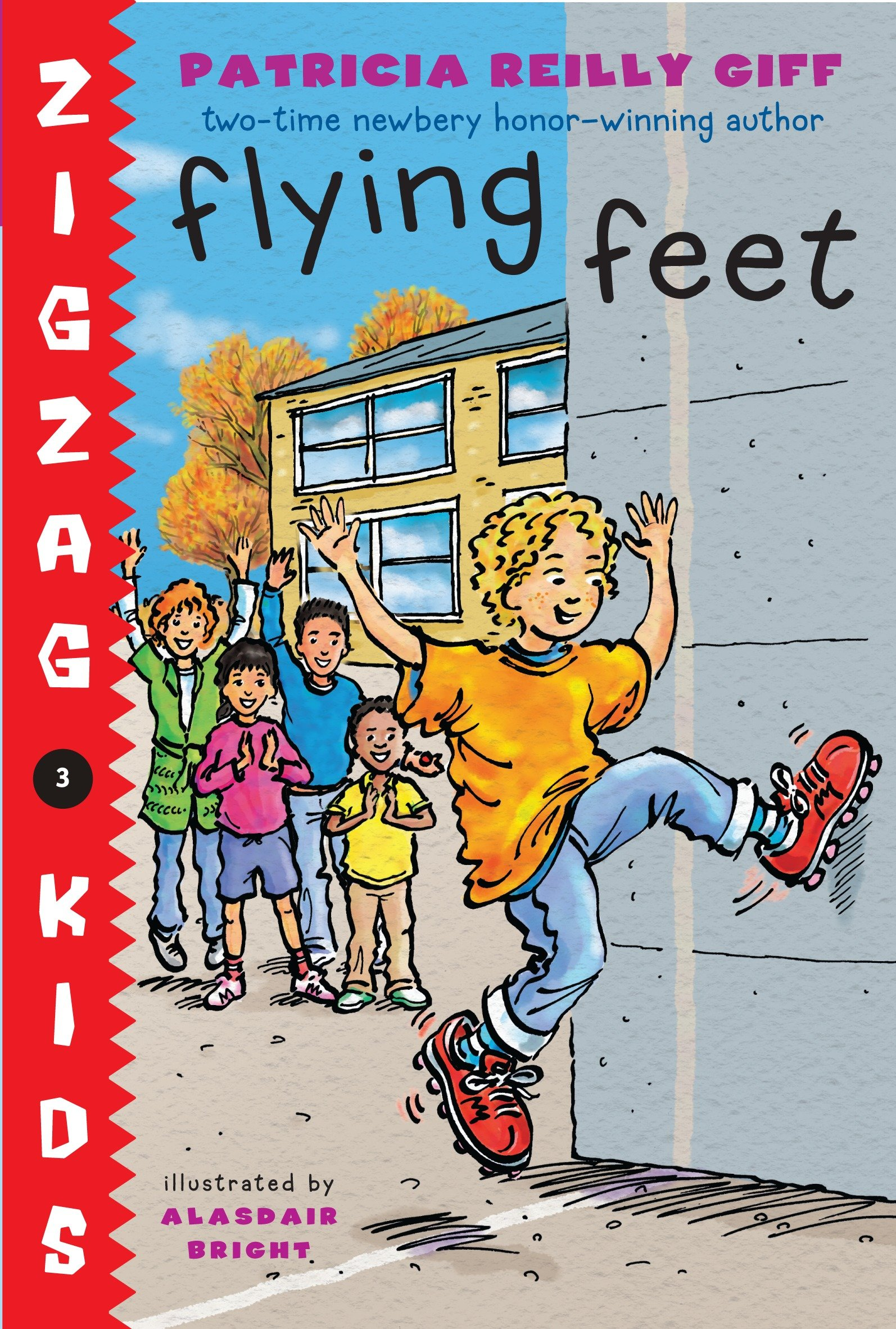 Flying feet cover image