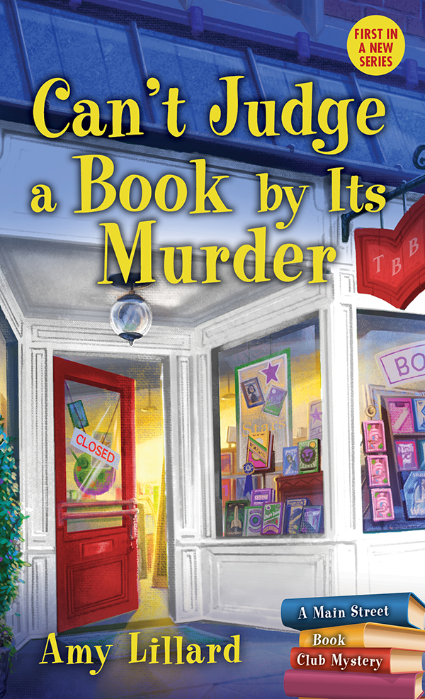 Cover Image of Can't Judge a Book By Its Murder