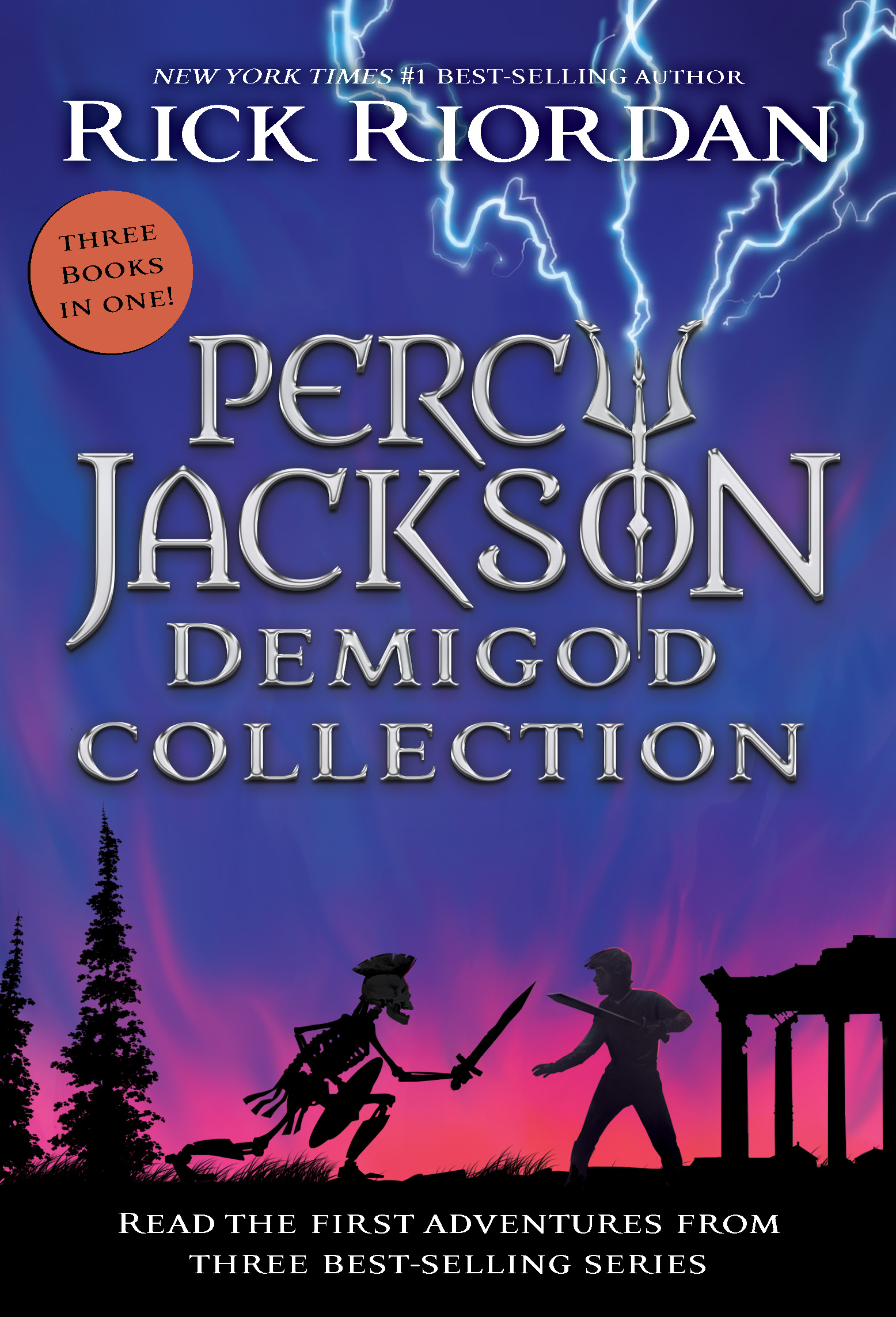 Percy Jackson Demigod collection [electronic resource (downloadable eBook)]
