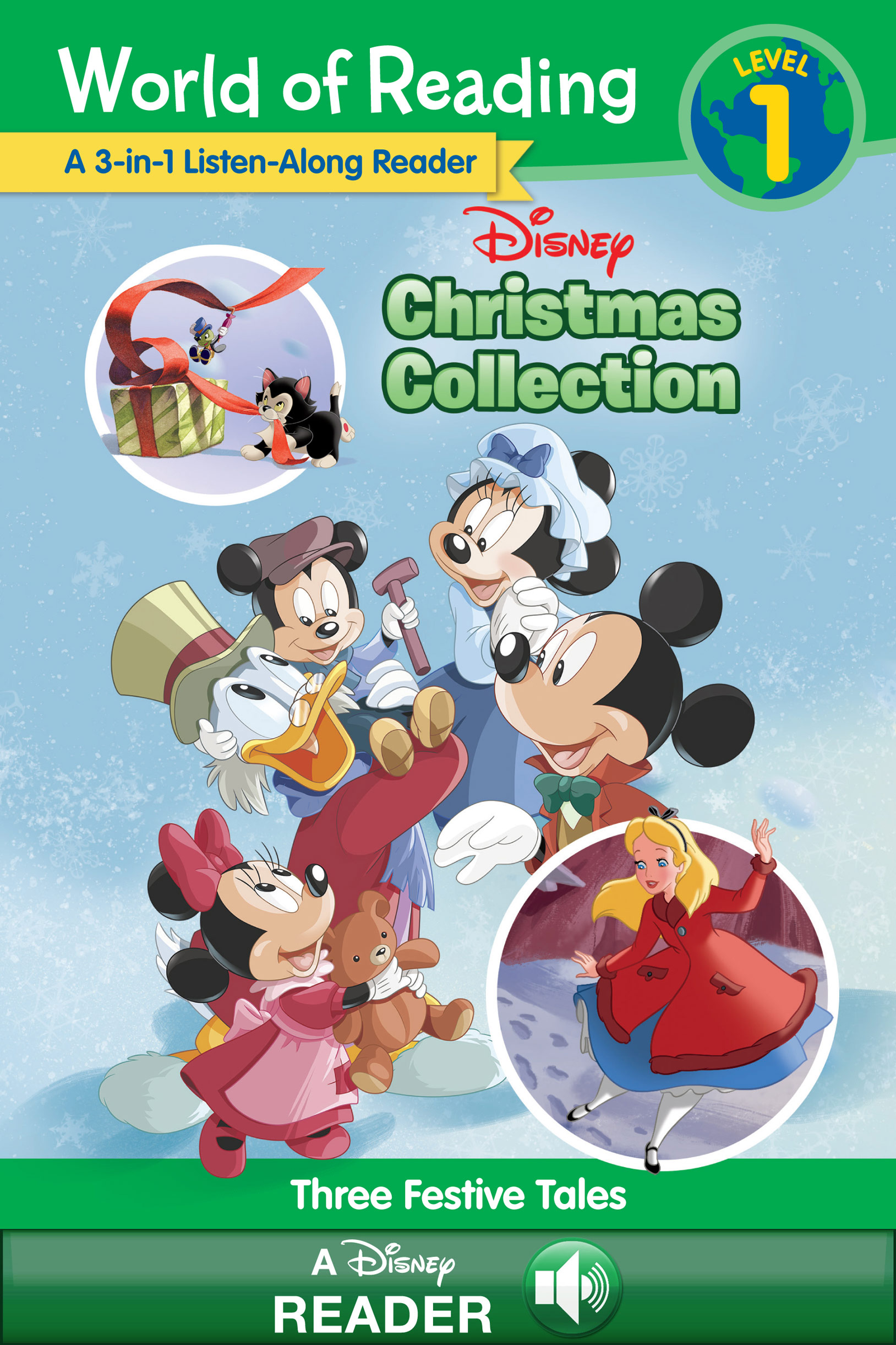 Disney Christmas collection [electronic resource (downloadable eBook)] : three festive tales