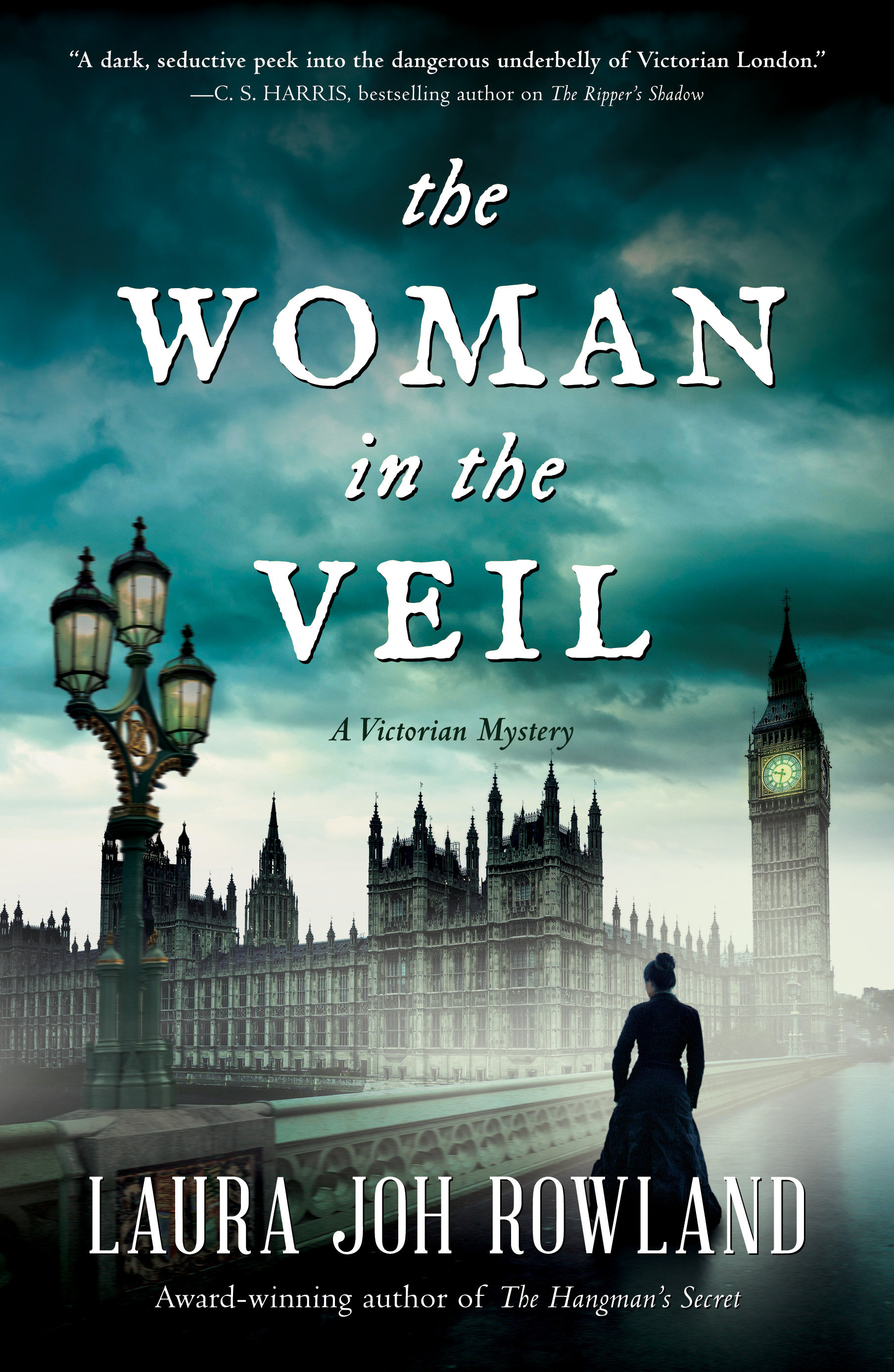 The woman in the veil cover image