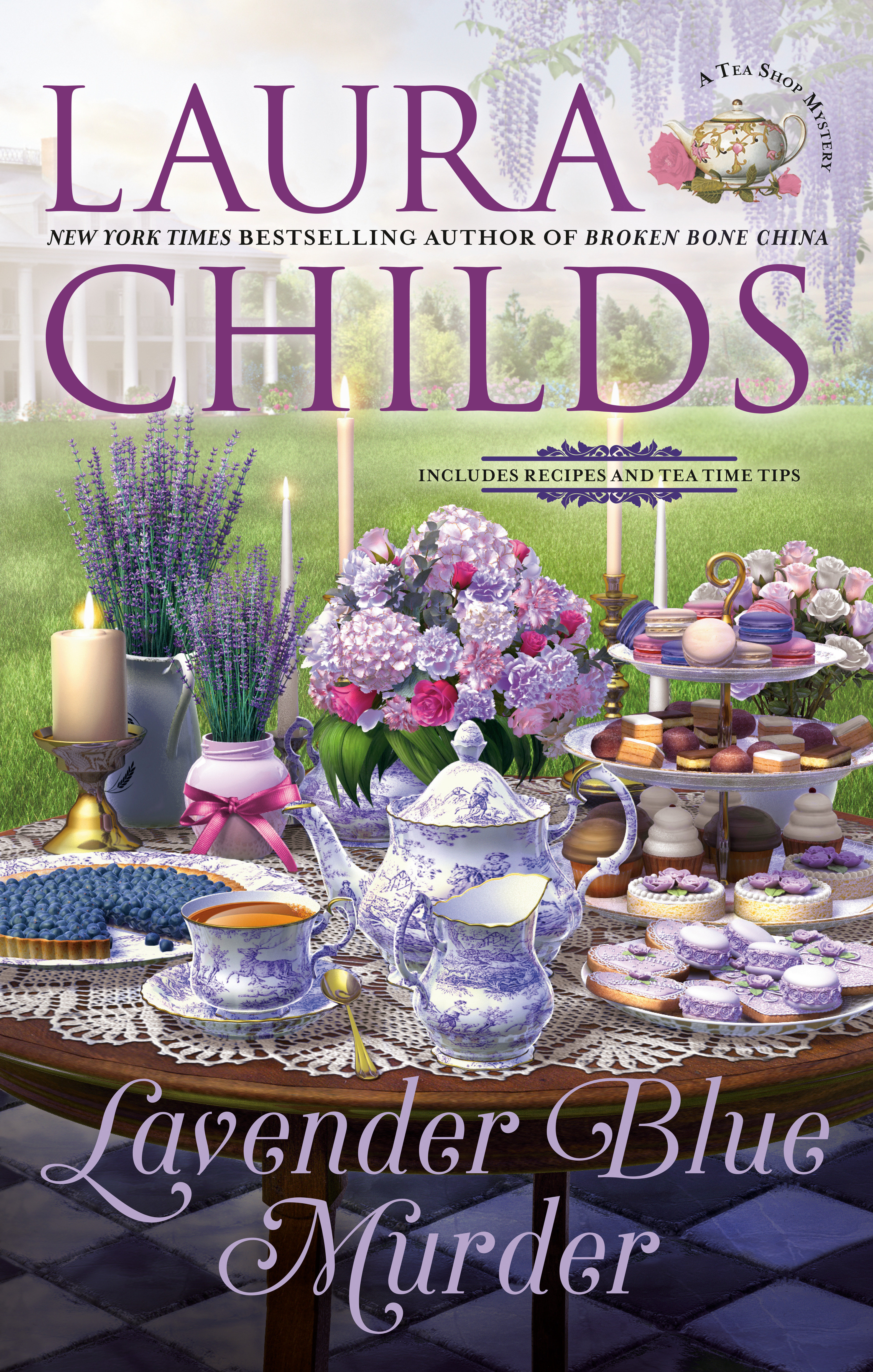 Lavender blue murder cover image