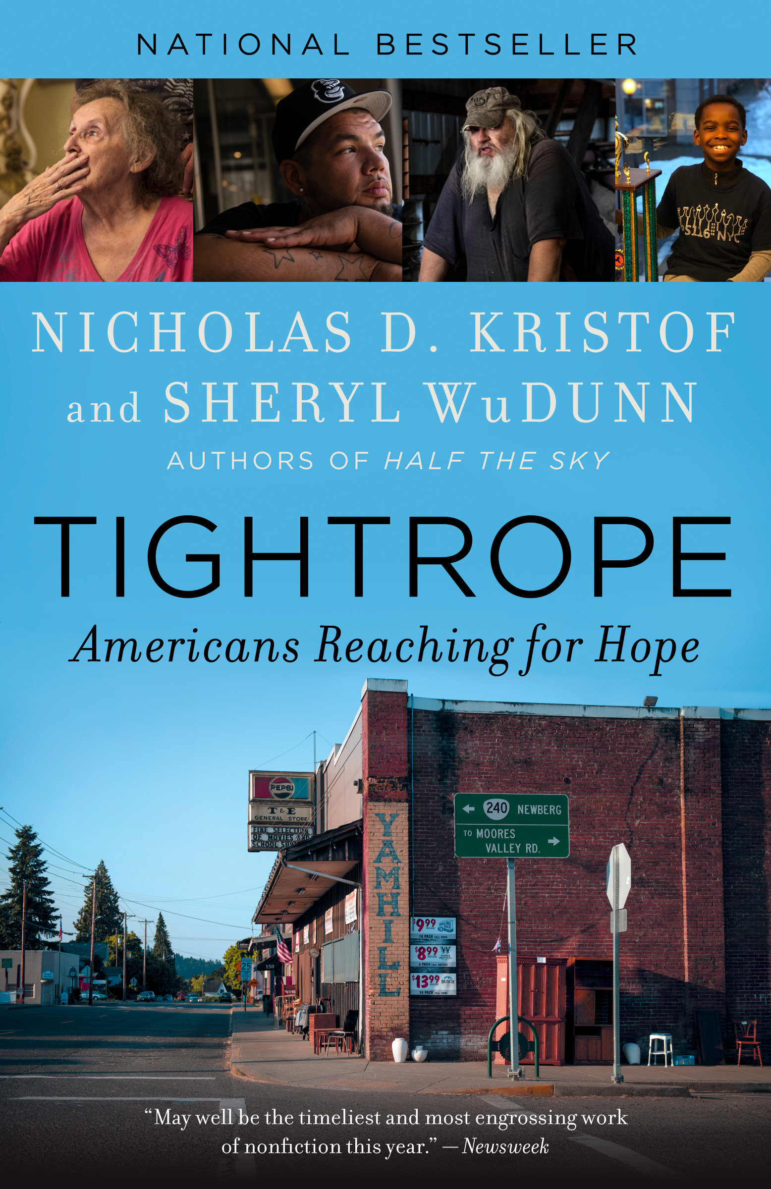 Tightrope [electronic resource (downloadable eBook)] : Americans reaching for hope