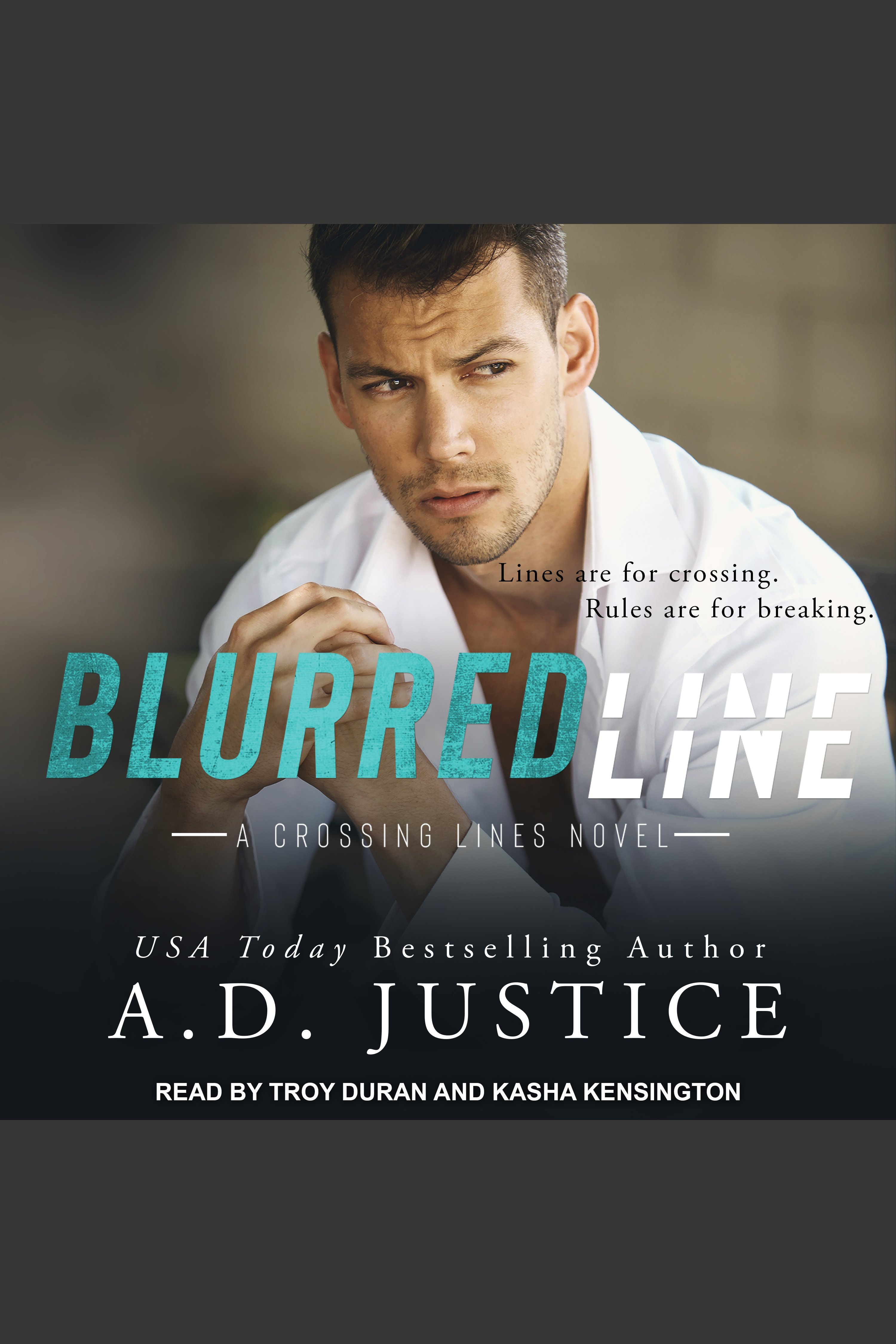 Blurred line cover image