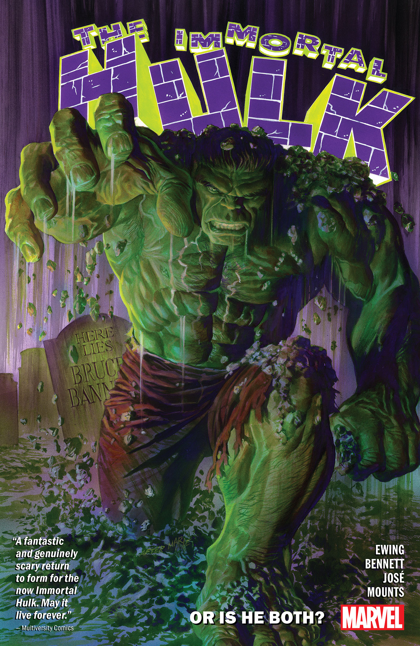 Immortal Hulk Vol. 1 [electronic resource] : Or Is He Both?