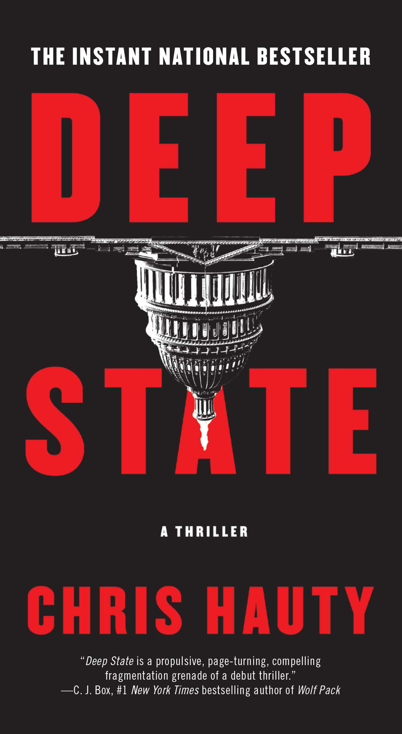 Deep state a thriller cover image