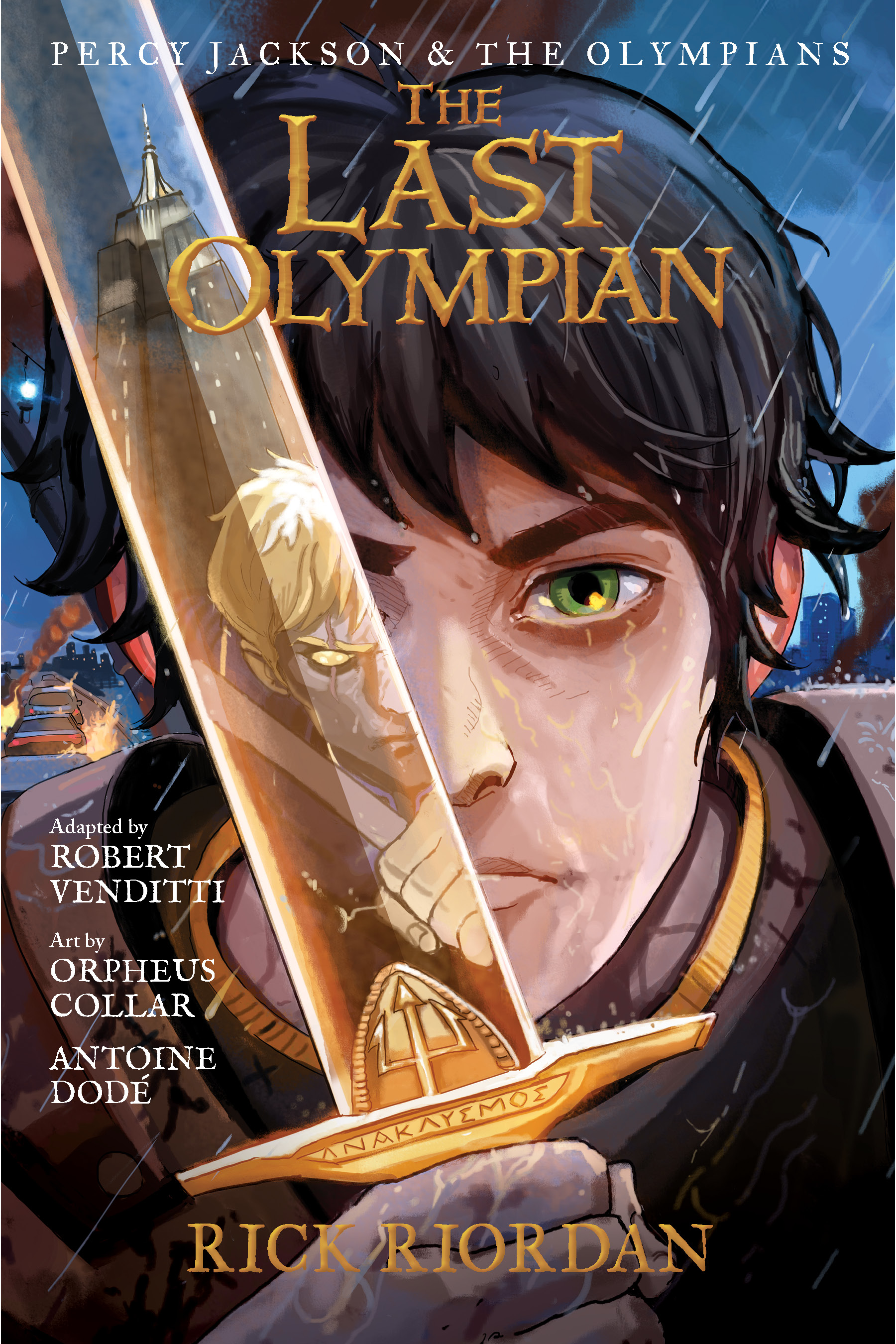 The last Olympian [electronic resource (downloadable eBook)] : the graphic novel