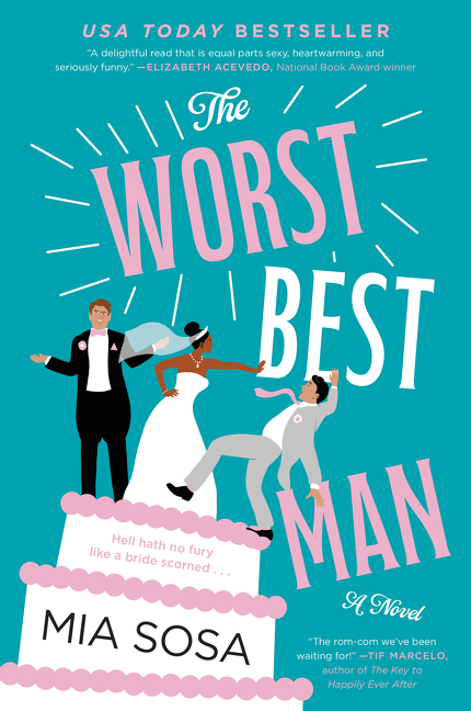 The worst best man cover image