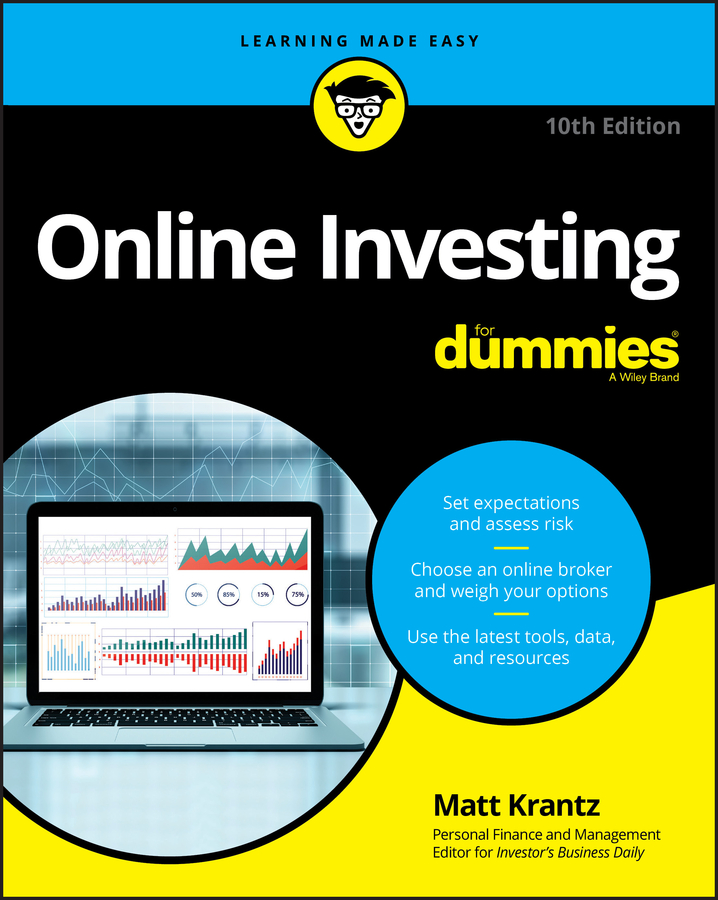 Online investing for dummies cover image