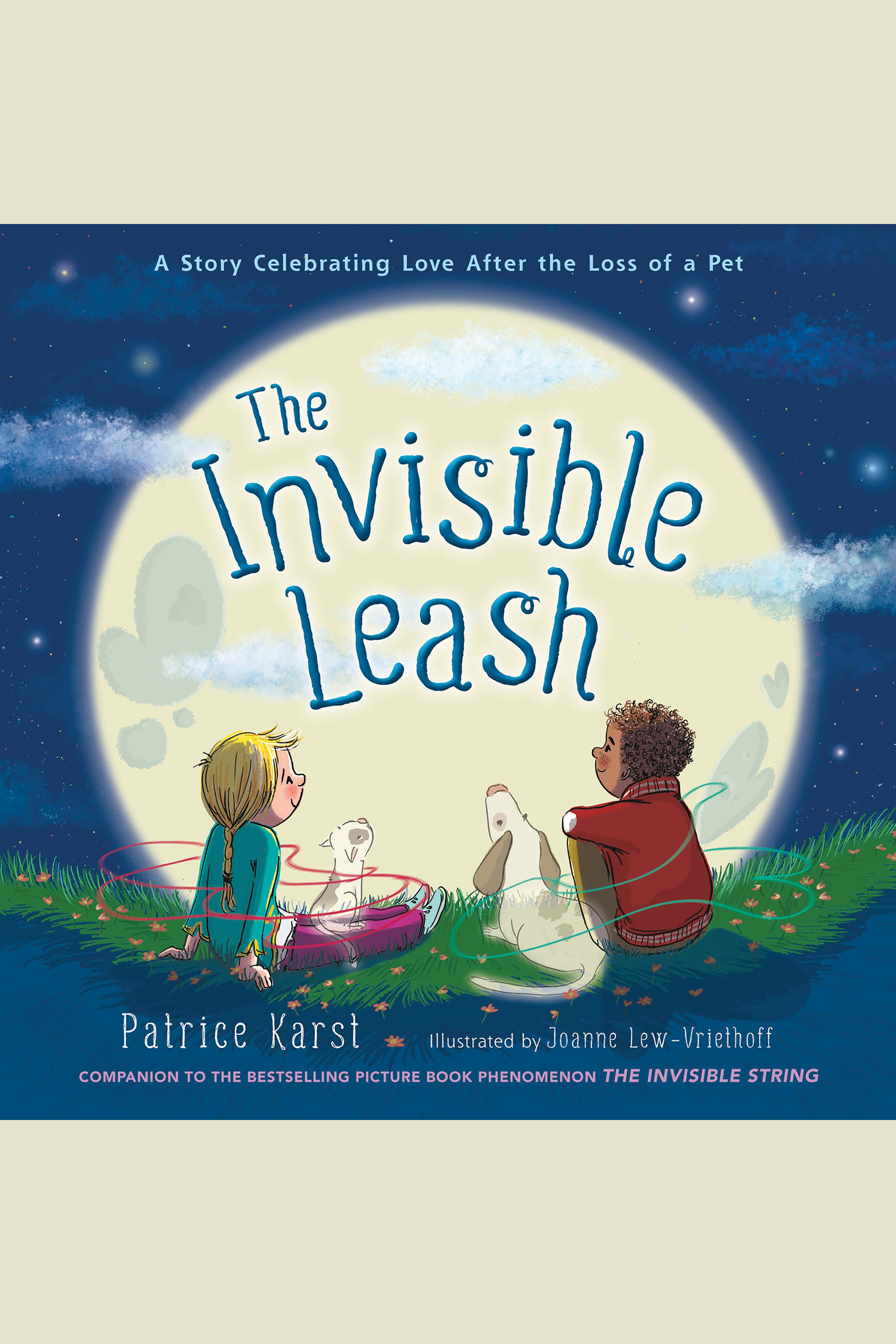 The invisible leash cover image