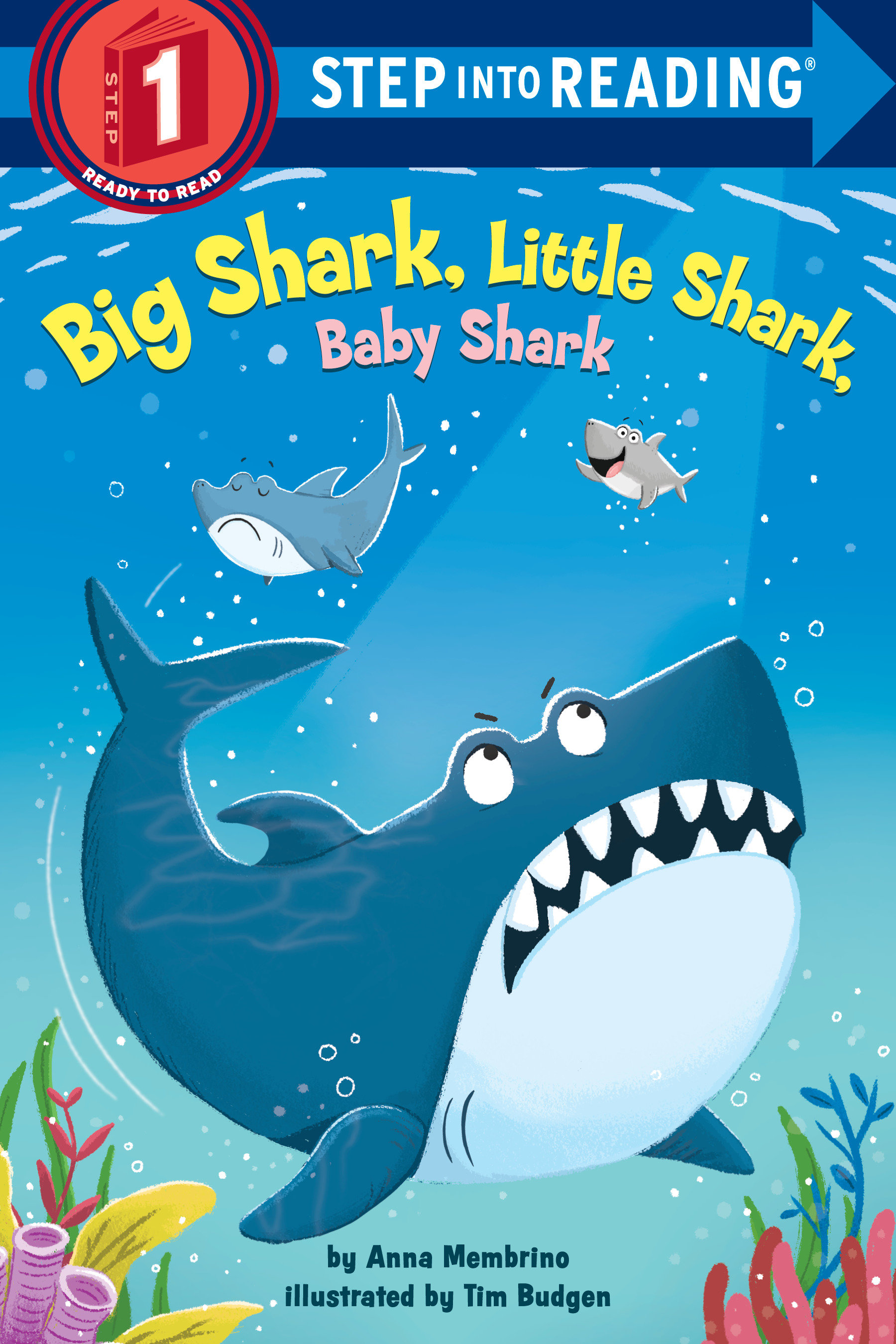 Big Shark, Little Shark, Baby Shark [electronic resource (downloadable eBook)]