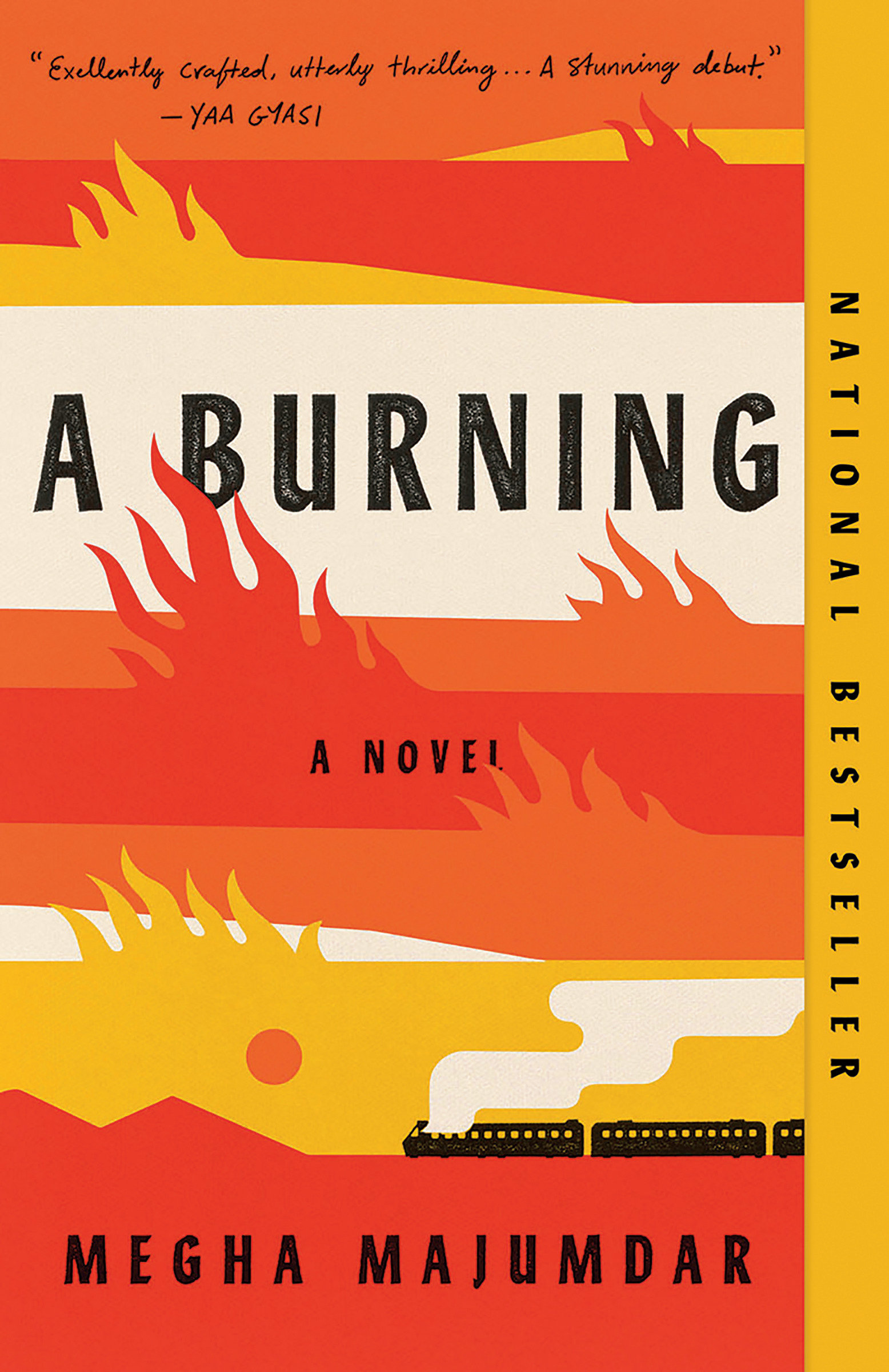 Cover Image of A Burning
