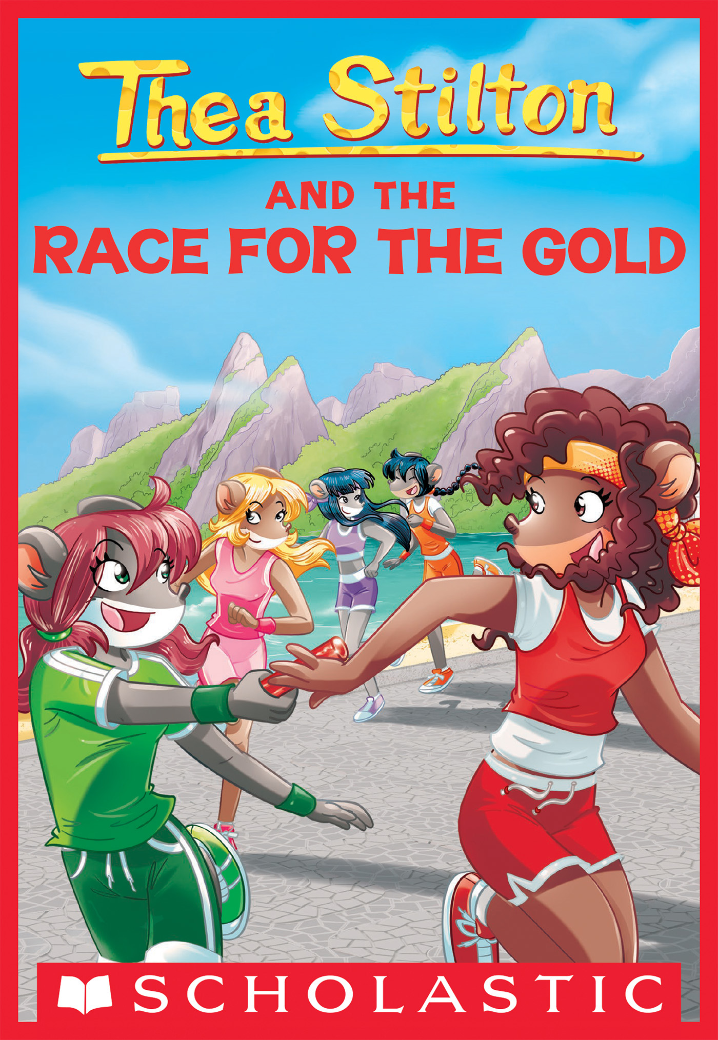 Thea Stilton and the Race for the Gold (Thea Stilton #31)