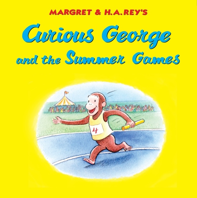 Cover Image of Curious George and the Summer Games