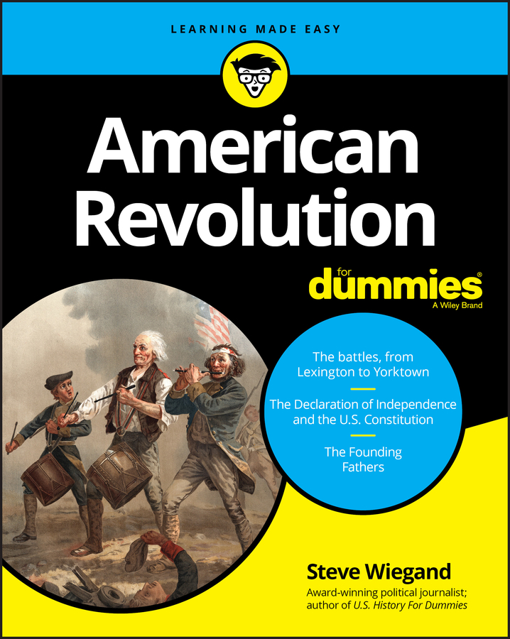 American Revolution for dummies cover image