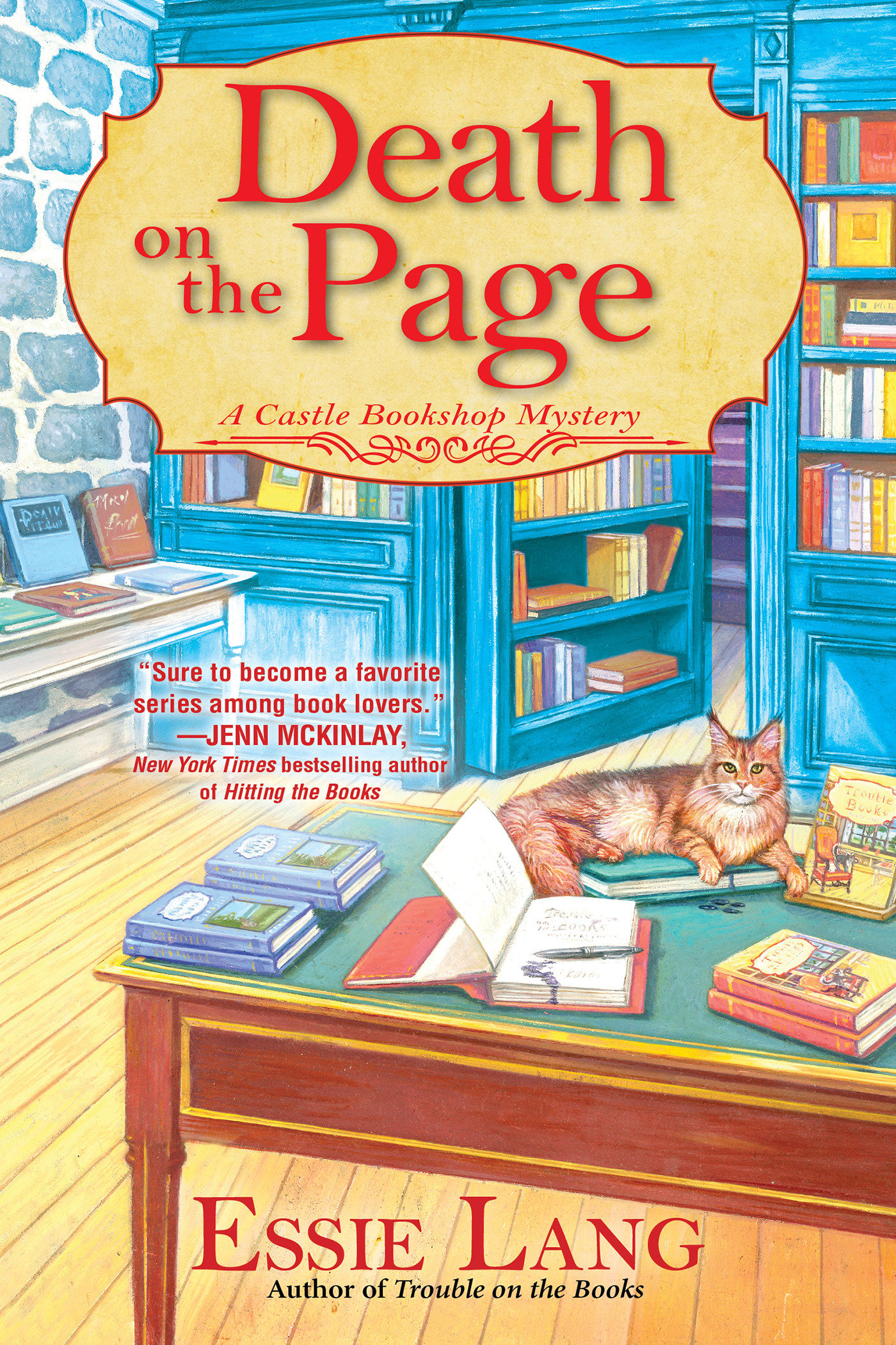 Death on the Page A Castle Bookshop Mystery