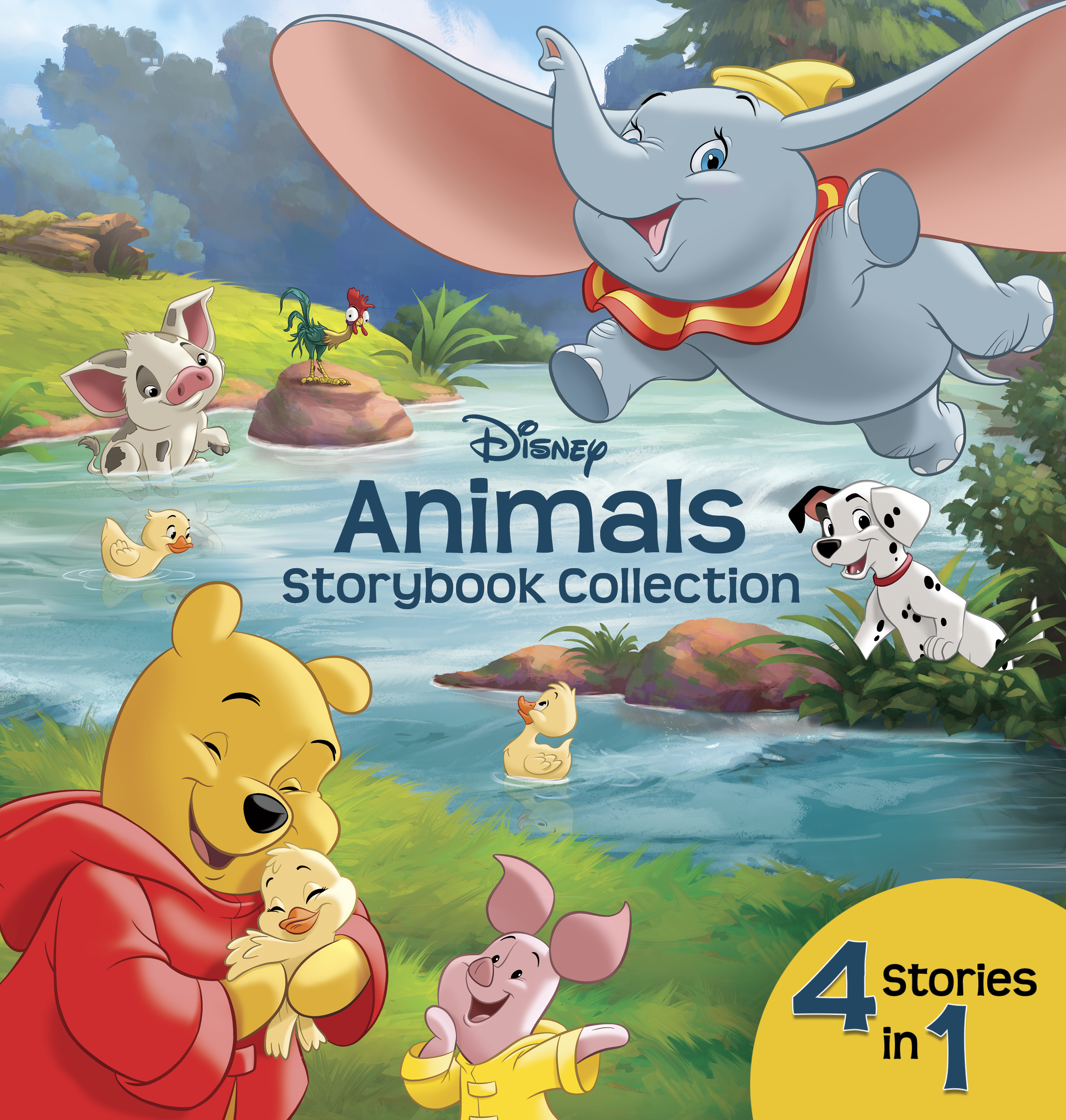Disney animals storybook collection [electronic resource (downloadable eBook)] : 4 Stories in 1
