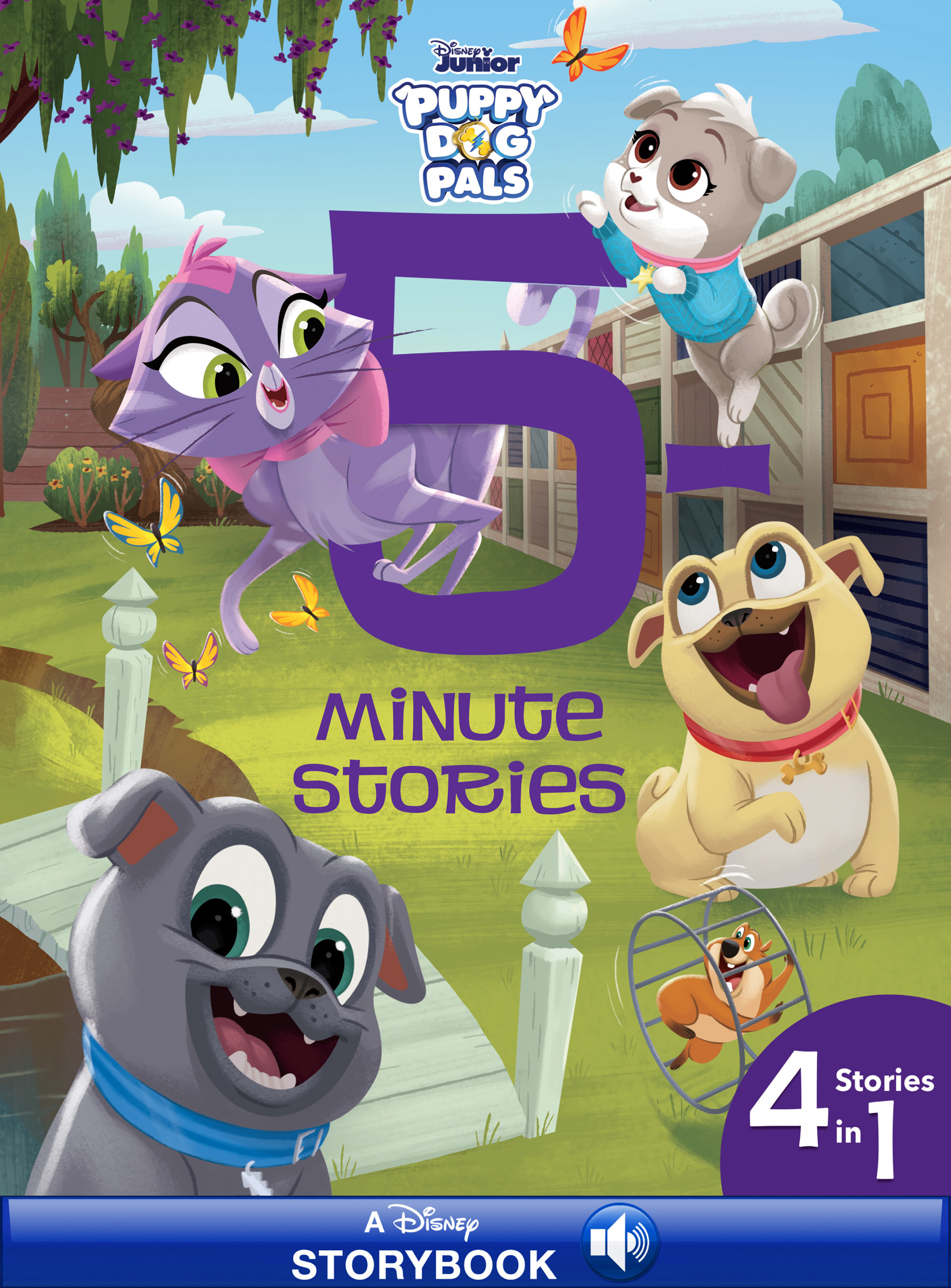 5-Minute Puppy Dog Pals Stories [electronic resource (downloadable eBook)] : 4 Stories in 1 Read-Along