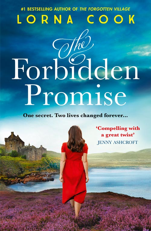Cover Image of The Forbidden Promise: A tale of secrets and romance, the latest historical fiction novel from the No.1 bestselling author of books like The Forgotten Village